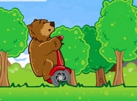 Play Bear On A Scooter