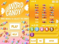 Play Candy Word