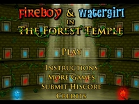 Play Fireboy And Watergirl 1 In The Forest Temple