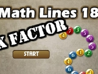Play Math Lines: Xfactor
