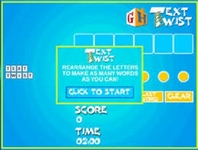 Play Text Twist Solver
