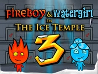 Play FireBoy and WaterGirl 3 in The Ice Temple