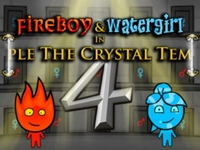 Play FireBoy and WaterGirl 4 in The Crystal Temple
