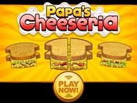 Play Papa's Cheeseria